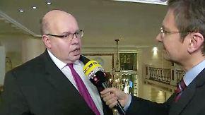 """Altmaier im n-tv Interview: """"Die Zahlen für die AfD werden in sich zusammenfallen"""""""