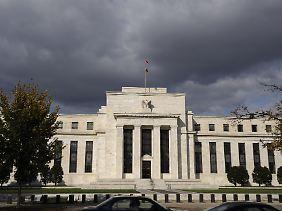 Fed-Zentrale an der großen Mall in Washington: Von hier aus ist das Weiße Haus bequem zu Fuß erreichbar.