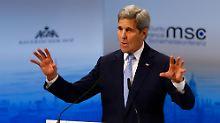 """""""Dies ist ein Wendepunkt"""": Kerry: Russland muss Angriffe stoppen"""