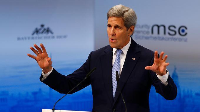 John Kerry bei der Sicherheitskonferenz in München.