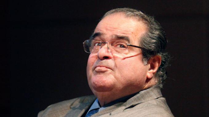 Antonin Scalia wurde 1986 vom damaligen US-Präsidenten Ronald Reagan ernannt.