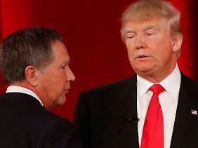 Kasich hat Trump die 66 Delegierten aus Ohio vor der Nase weggeschnappt.
