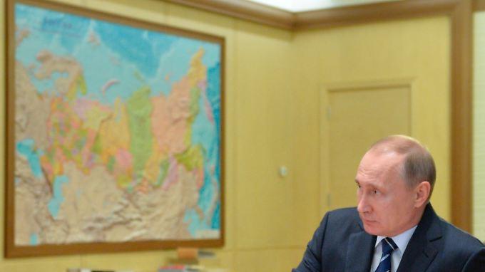 Sieht sein Land von Feinden umgeben: Präsident Putin.