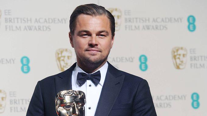 Nächster Schritt zum Oscar: Leonardo DiCaprio sichert sich seinen ersten BAFTA-Award