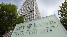 Die BHF-Bank ist eine Tochter der BHF Kleinwort Benson.