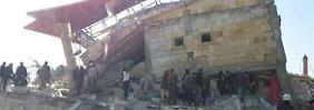 """Mediziner: """"Gezielter Angriff"""": Raketen treffen syrisches Krankenhaus"""