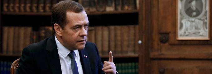 """Medwedew kritisiert EU-Migrationspolitik: """"Ich habe Mitleid mit Europa"""""""