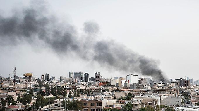 Das Gift wurde  bei Kämpfen in der Gegend um Erbil eingesetzt.