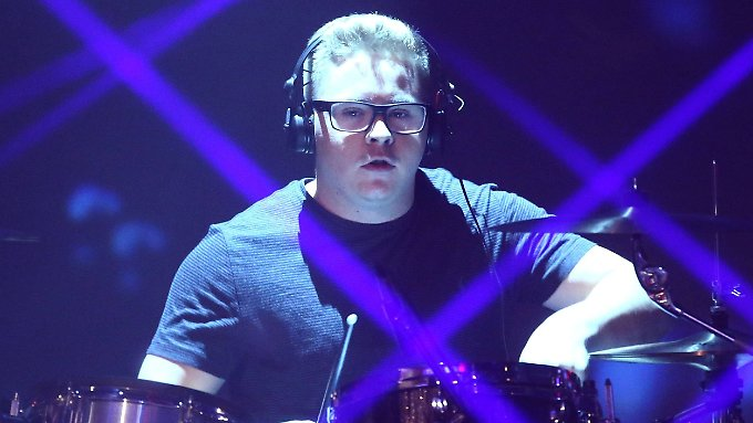 Bald Daddy: Tokio-Hotel-Drummer Gustav Schäfer.
