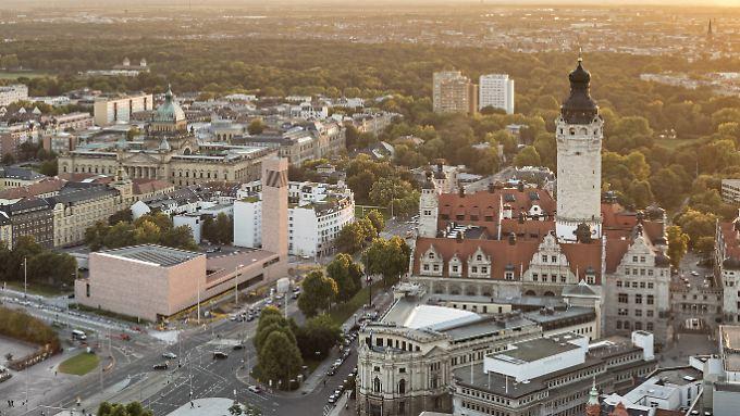 Die Leipziger Innenstadt ist voller historischer Bauten. Ein Tagesausflug lohnt sich allemal.