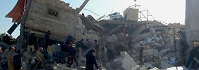 Luftangriffe in Syrien: Dutzende Tote bei Klinik-Bombardements