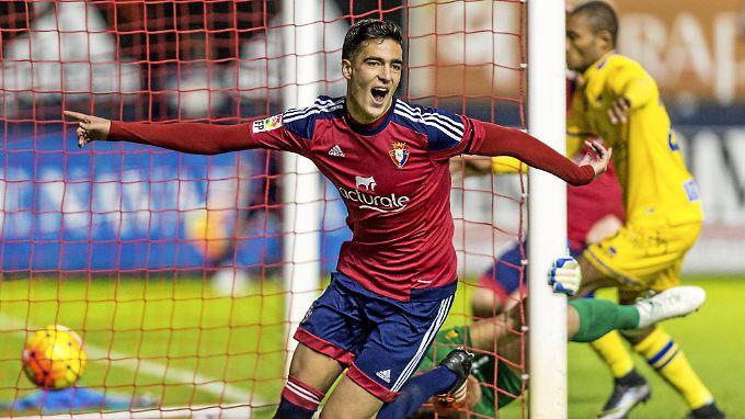 Gerade erst 19 Jahre jung ist Mikel Merino.