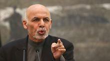 """Korruption in Afghanistan: Ghani beklagt """"räuberische Elite"""""""