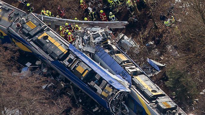 Das Zugunglück von Bad Aibling gilt als das schwerste Unglück in Deutschland nach dem ICE-Unfall in Eschede von 1998.