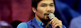 """Schlimmer als Tiere"": Box-Idol Pacquiao beschimpft Homosexuelle"