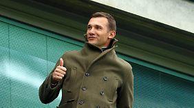 Andrej Schewtschenko ist die Fußball-Ikone der Ukraine.