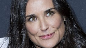 Promi-News des Tages: Demi Moore turtelt am Set mit Hollywood-Kollegen
