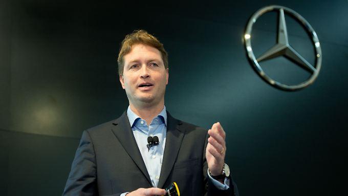 Zetsche vor Vertragsverlängerung: Schwede Ola Källenius gilt als Daimlers neuer Kronprinz