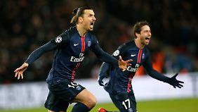 Zlatan Ibrahimovic hat genug von seiner Zeit bei PSG und könnte demnächst in England kicken.
