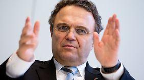 Früher Innenminister, heute Vizechef der Unionsfraktion im Bundestag: Hans-Peter Friedrich.