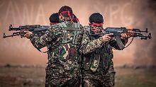 Die Kurden im Norden Syriens unterhalten sogenannte Volksschutzeinheiten, die sie YPG nennen.