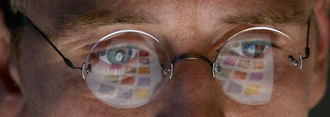 """Michael Fassbender in der Rolle des """"Steve Jobs""""."""