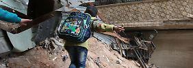 Warnung der Welthungerhilfe: Aleppos Fall wird Flüchtlingskrise zuspitzen