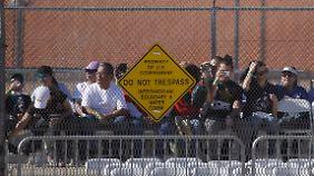Auch im texanischen El Paso auf der anderen Seite der Grenze war das Interesse an Franziskus groß.