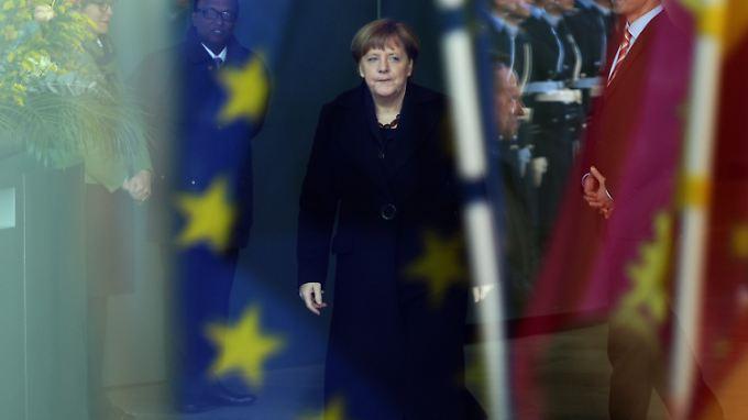 Kanzlerin Merkel kann ihre Ziele in Europa derzeit nicht umsetzen. Darum versucht sie es erst gar nicht.