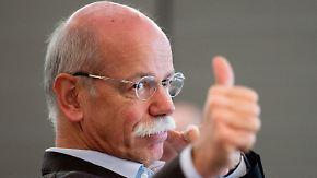 Aktuelles Unternehmens-Ranking: Daimler fährt die höchsten Gewinne in Europa ein