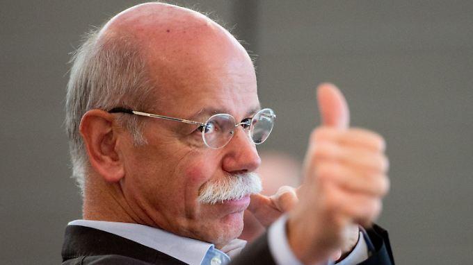 Daimler-Chef Dieter Zetsche hat derzeit keinen Grund zu klagen.