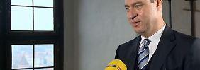 """Markus Söder zum EU-Gipfel: """"Werden Europa nicht mit Belehrungen zusammenhalten"""""""