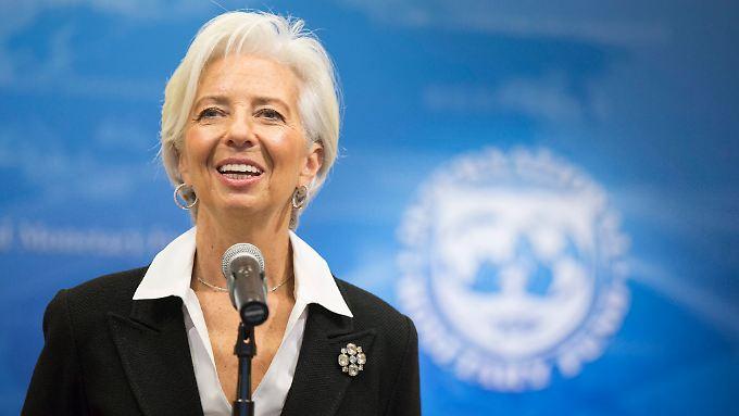 Christine Lagarde wird weitere fünf Jahre an der Spitze des IWF stehen.