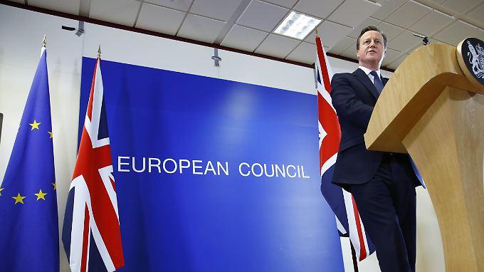 """David Cameron zur Einigung: """"Großbritannien wird kein Teil eines europäischen Superstaates"""""""