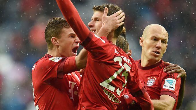 Zweimal zur Stelle: Thomas Müller vom FC Bayern.
