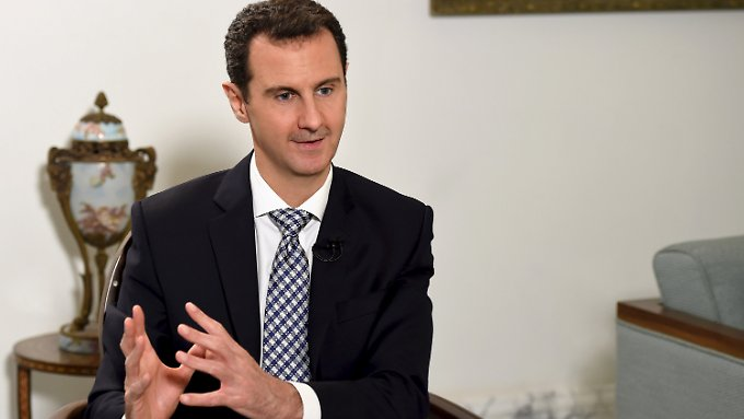 """Der syrische Präsident Baschar al-Assad gab der spanischen Zeitung """"El País"""" ein Interview."""