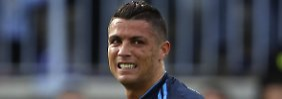 Nur ein Remis: Cristiano Ronaldo.
