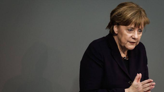 Bundeskanzlerin Angela Merkel verurteilte die Ereignisse in Clausnitz.