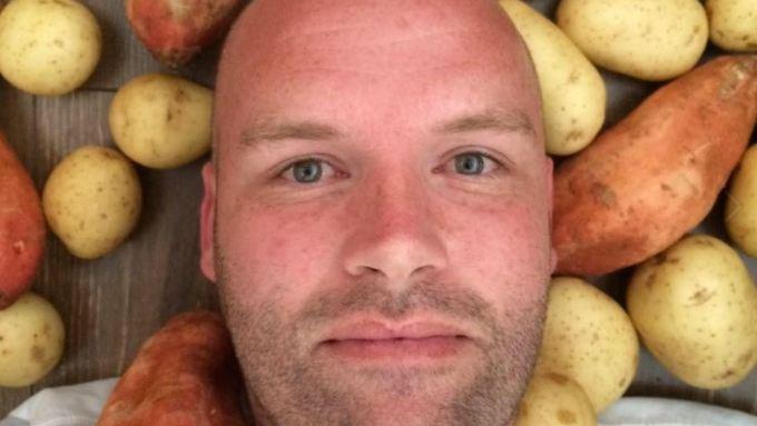 Andrew Taylor macht eine Kartoffeldiät - ein Jahr lang will der Australier nur Kartoffeln zu sich nehmen.