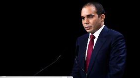 Verwegene Idee: Prinz Ali bin Al Hussein will die Fifa-Wahl absagen lassen.