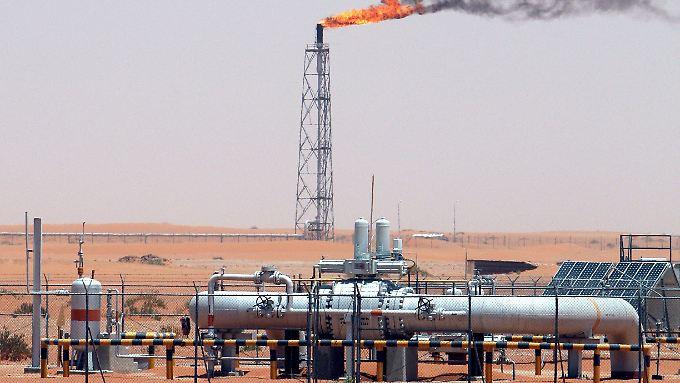 Ölförderung im saudischen Khurais-Feld.