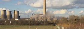 Arbeiter stirbt bei Unglück: Schwere Explosion in britischem Kraftwerk