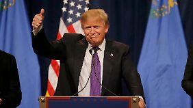 """""""Ich liebe die schlecht gebildeten"""": Donald Trump gewinnt Vorwahlen in Nevada"""