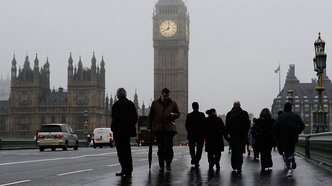 London im Nebel: In vier Monaten gibt es Klarheit darüber, was die Briten wollen.