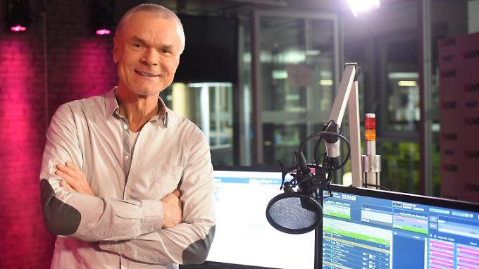 WDR-Radiomoderator Jürgen Domian glaubt noch immer nicht an einen Scherzanruf.