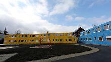In Erfurt entsteht ein neues Containerdorf für Flüchtlinge.