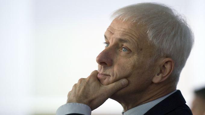 Matthias Müller soll für den Abgasskandal persönlich geradestehen.