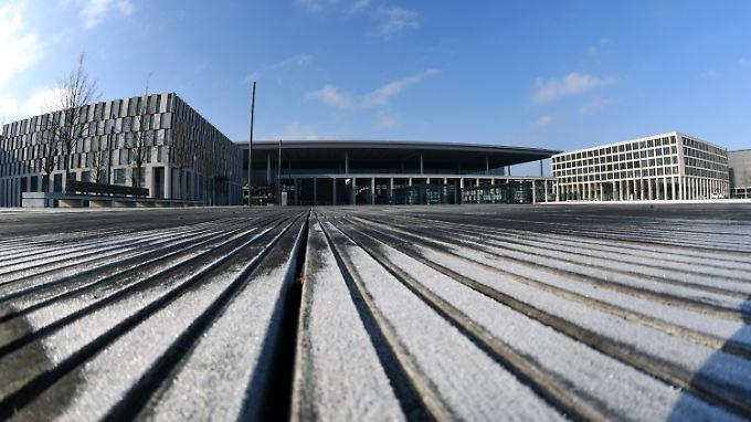 Blick auf das BER-Hauptterminal.