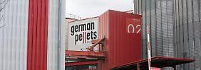 German Pellets hat vor zwei Wochen Insolvenz angemeldet.