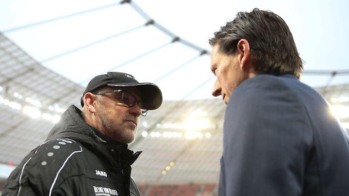 Thomas Schaaf springt seinem viel kritisierten Kollegen Roger Schmidt zur Seite.